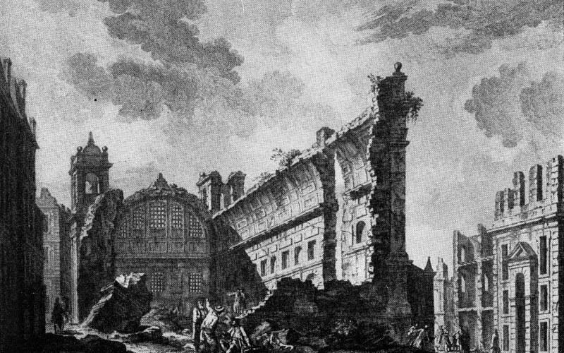Imagen del terremoto de Andalucía de finales del siglo XIX