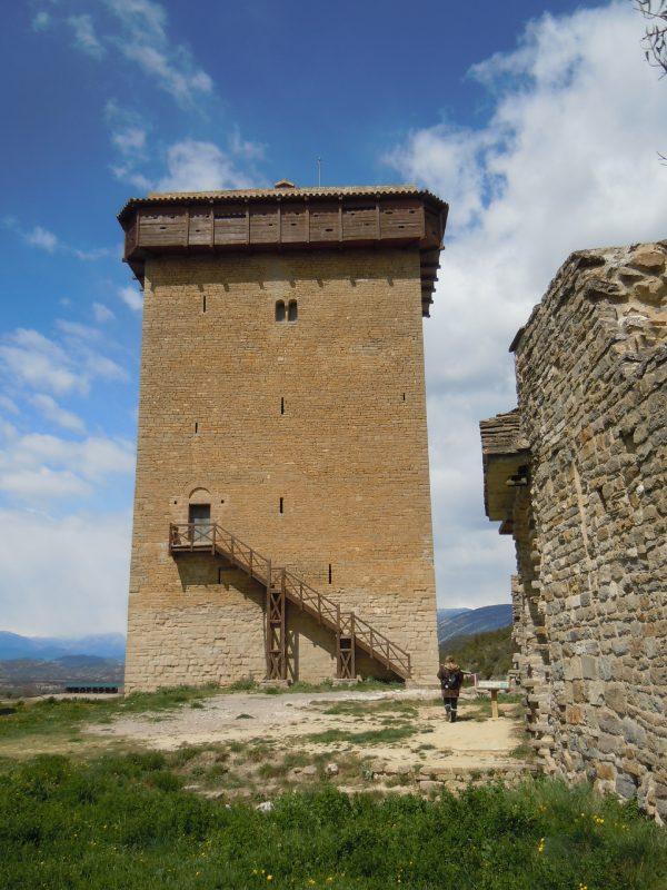 Torre del Castillo de Abizanda