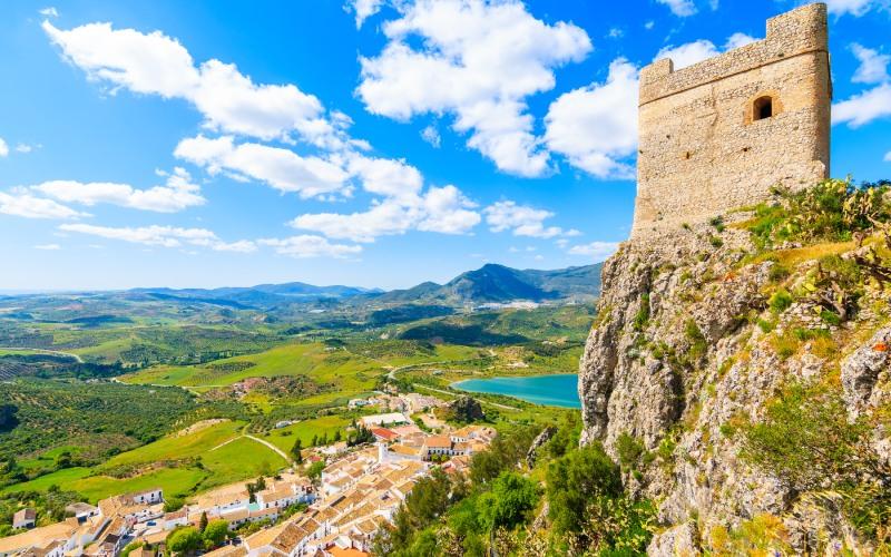 Torre del Castillo de Zahara de la Sierra