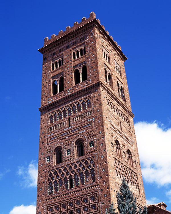 Torre de la iglesia del Salvador Teruel