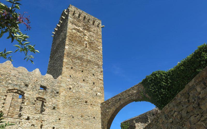 Torre del homenaje Sant Pere de Rodes