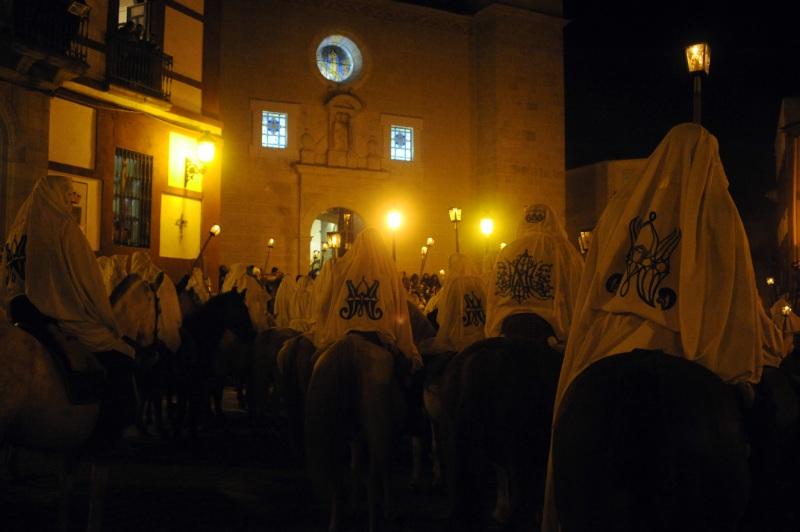 Fiesta de la Encamisá en Torrejoncillo, uno de los pueblos más antiguos de España