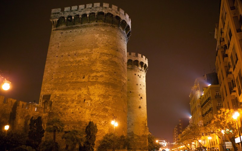 Torres de la porta de Quart valencia
