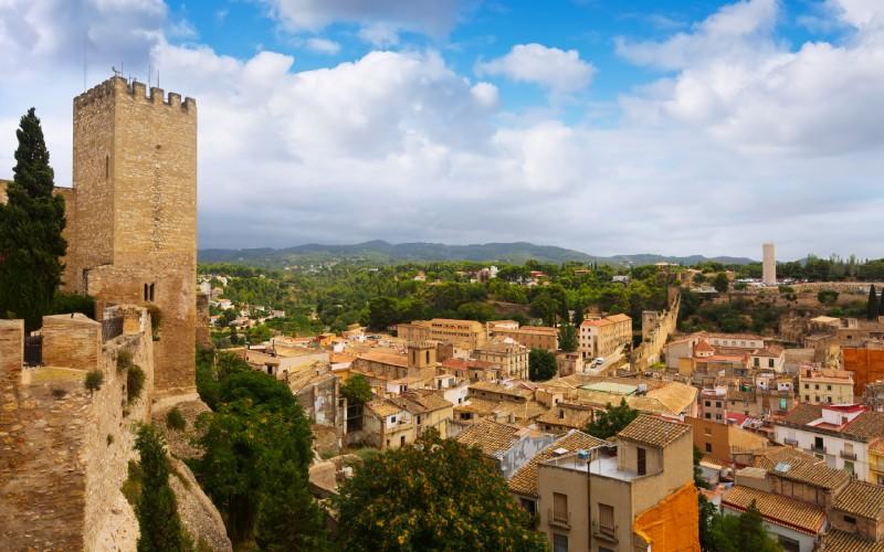 Vista de Tortosa desde el Castillo de Suda, uno de los grandes feudos templarios.