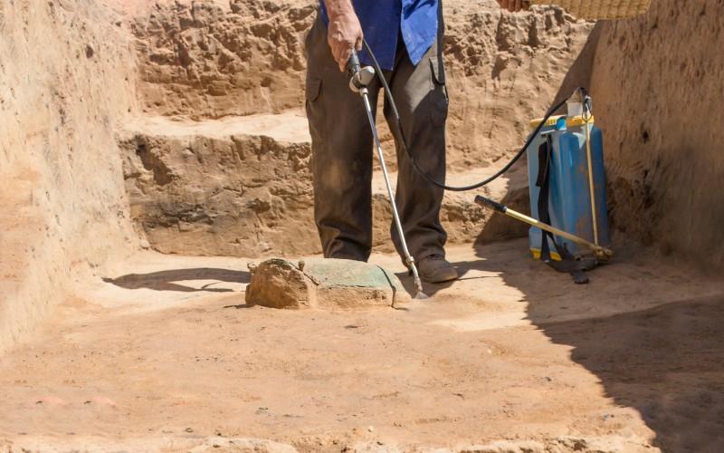 Trabajos arqueológicos en Guareña