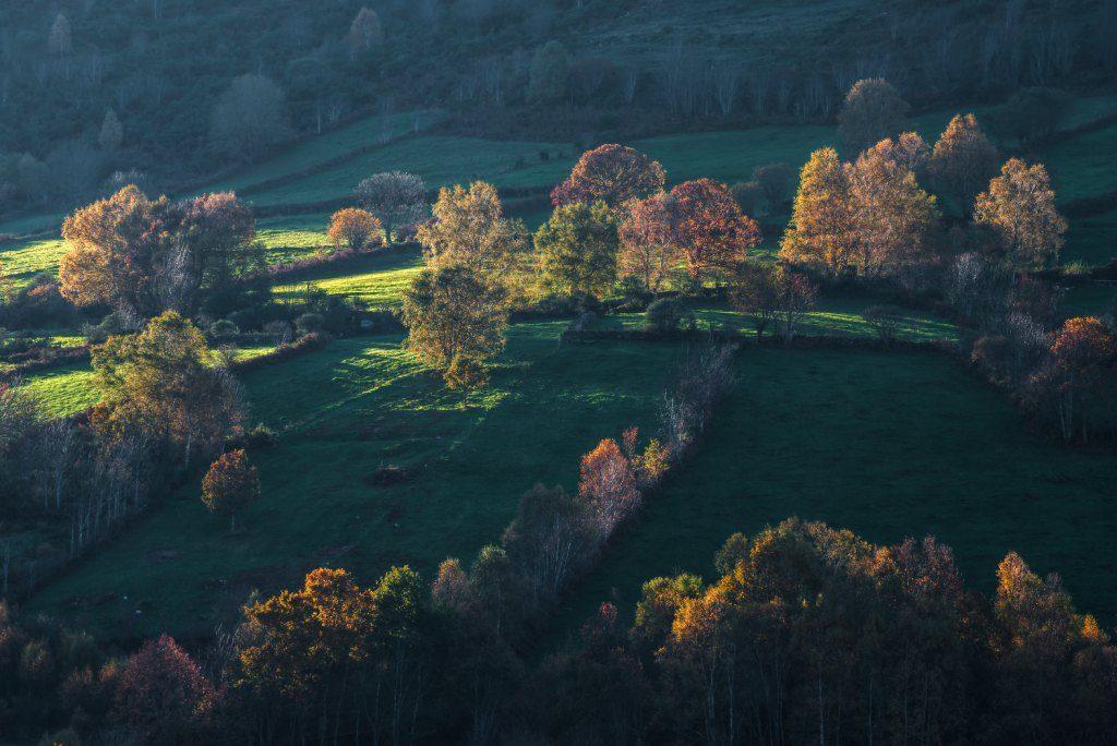 Valles de España para una escapada en otoño Oribio