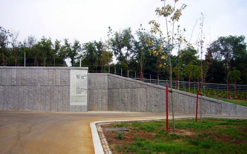 Entrada en Madrid-Río al Túnel Bonaparte