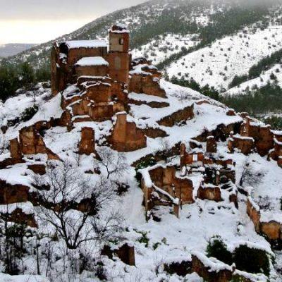 Turruncún, un precioso pueblo fantasma en medio de La Rioja Baja
