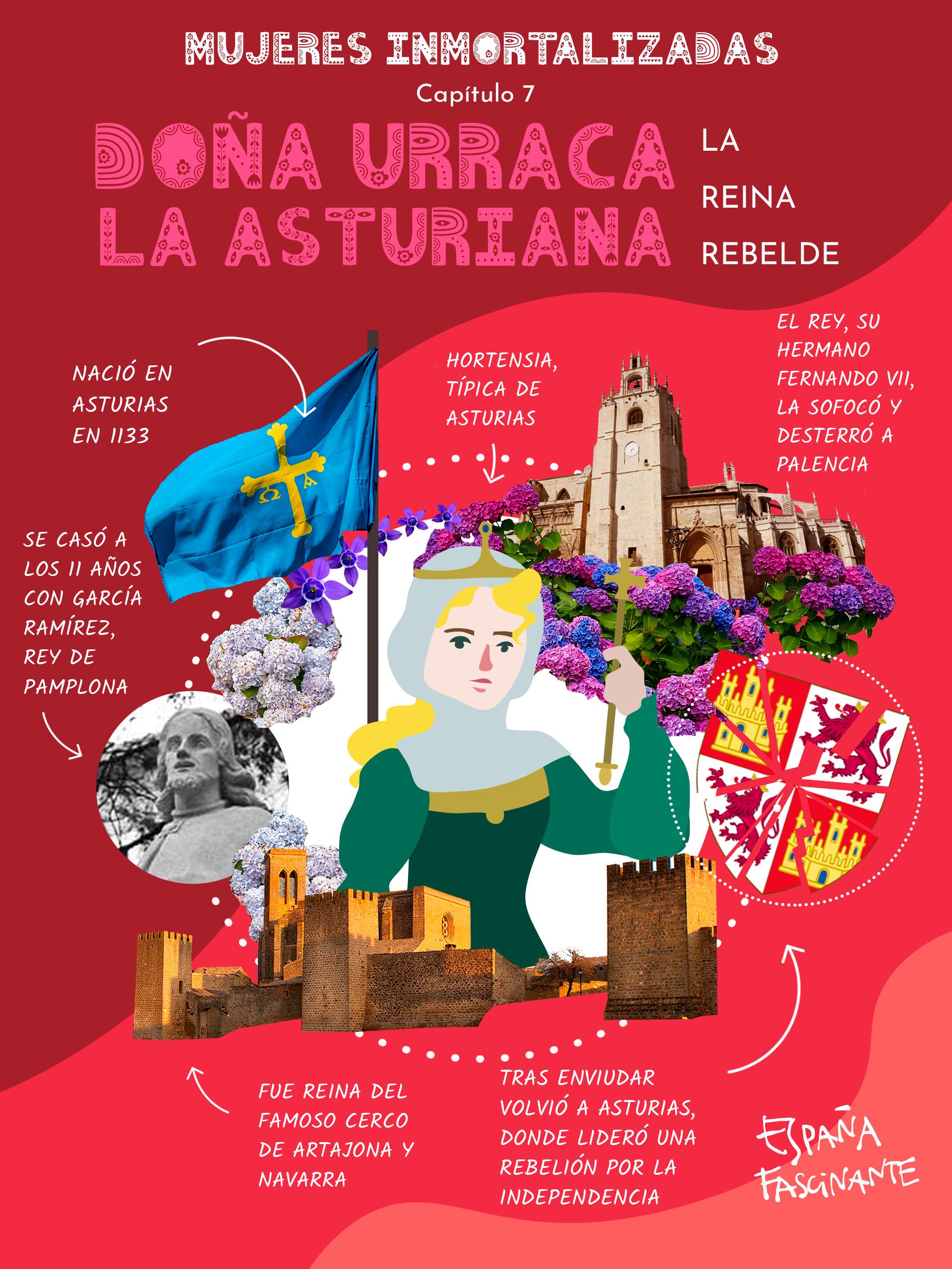 Doña Urraca la asturiana