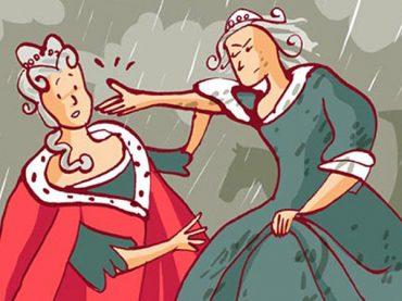 Encuentro de princesas en Jadraque
