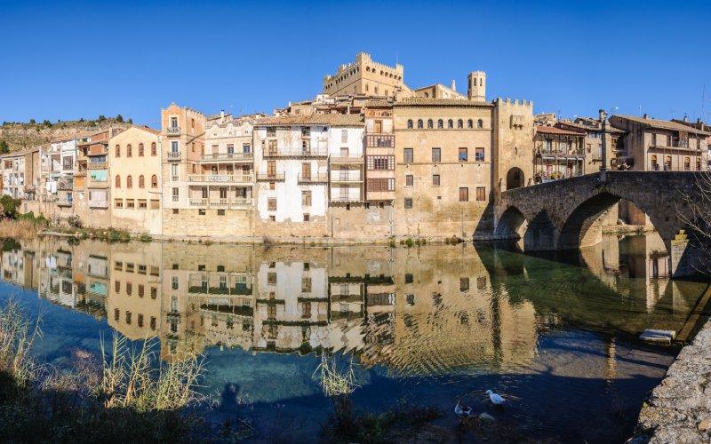 Valderrobres y su arquitectura gótica son considerados Bien de Interés Cultural