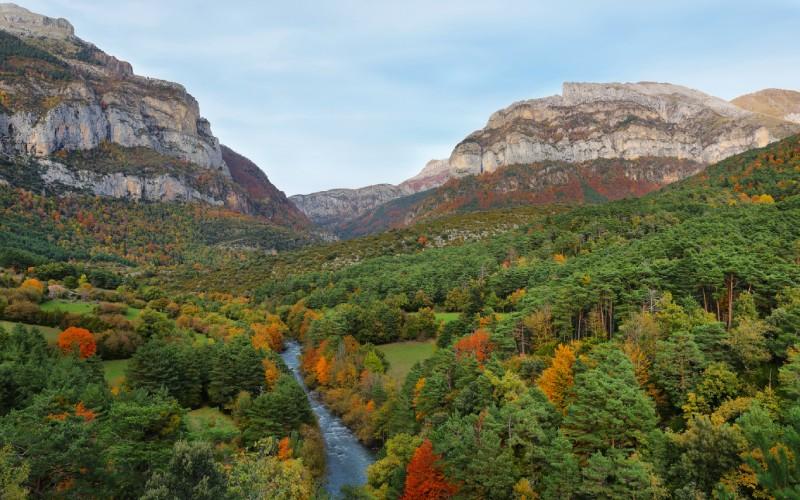 La belleza del valle de Hecho