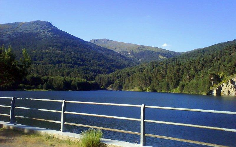 Río Moros en la zona de la Garganta Segovia