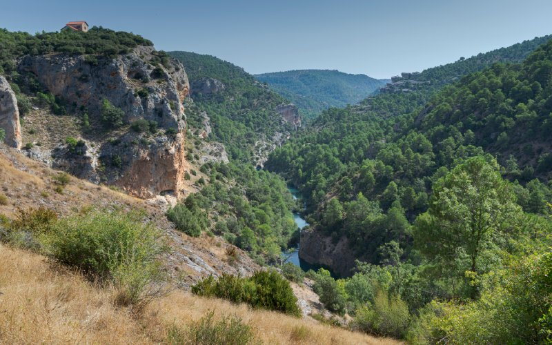 El Ventano y el Júcar, en la Serranía de Cuenca