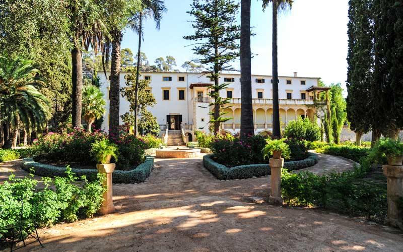 Jardín de Raixa en Bunyola