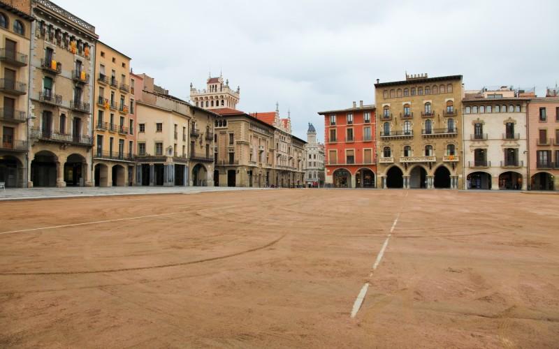 Plaza mayor de Vic