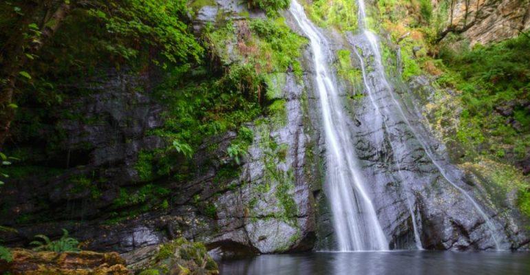 Cascada de Vilagocende, el salto de agua más grande de Galicia