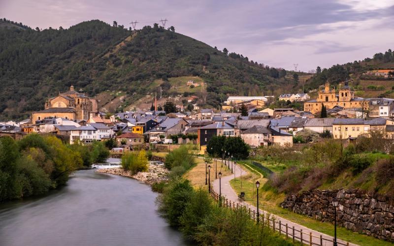 Villafranca del Bierzo, donde los días de calor extremo son más soportables
