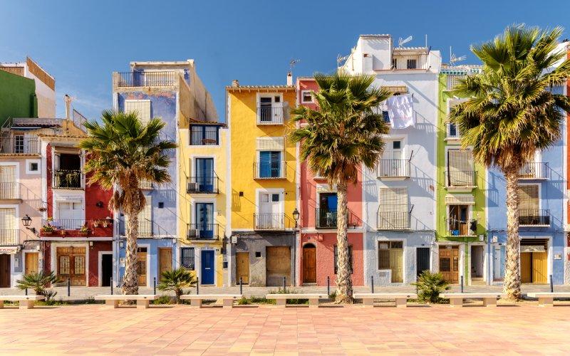 Las casas pintorescas de Villajoyosa