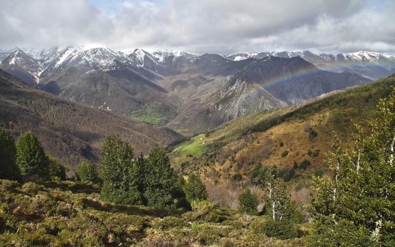 Las vistas de los valles asturianos quitan el hipo