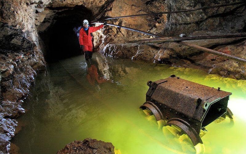 Visita minera a El Soplao
