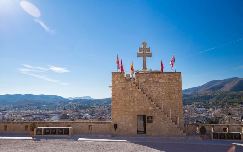 Vistas desde el Castillo de Caravaca de la Cruz