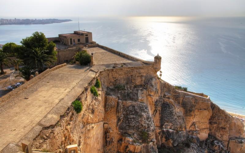 El mirador del castillo de Alicante