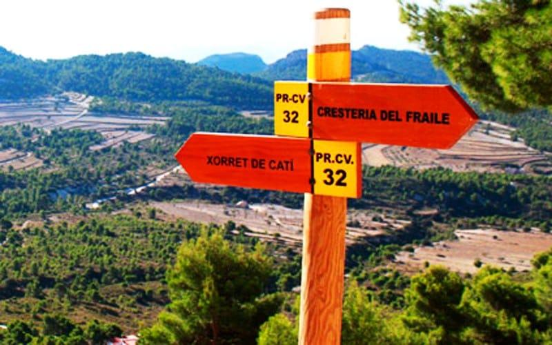 acampada libre en España