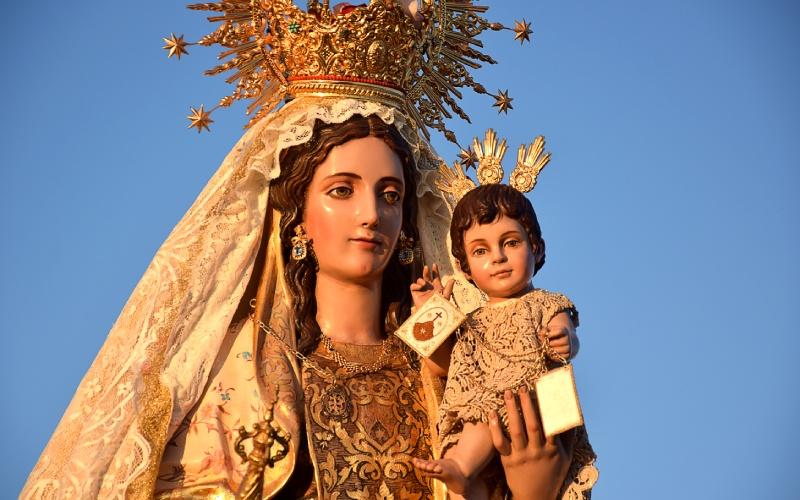 Virgen del Carmen de Zahara de los Atunes