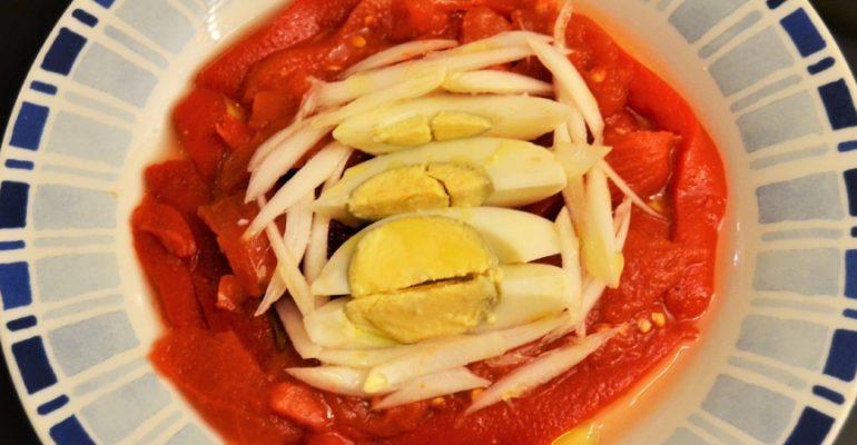 Receta de zorongollo, la ensalada de pimientos extremeña